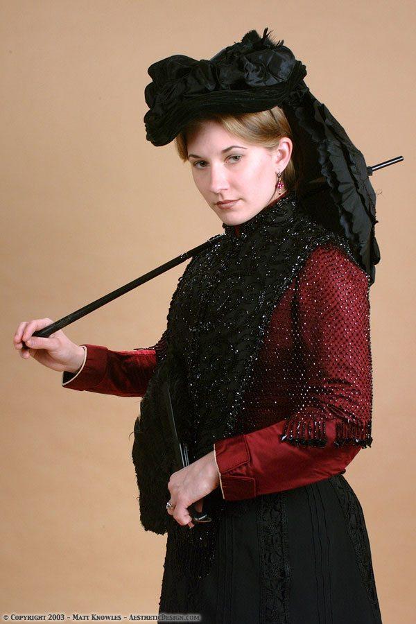 1860-black-silk-parasol-09