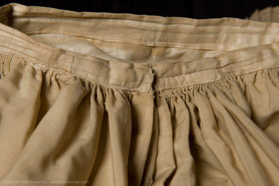 Skirt Waist Detail