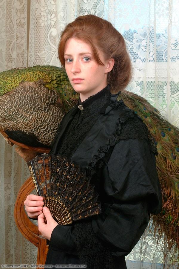 1890 Black Silk Bodice