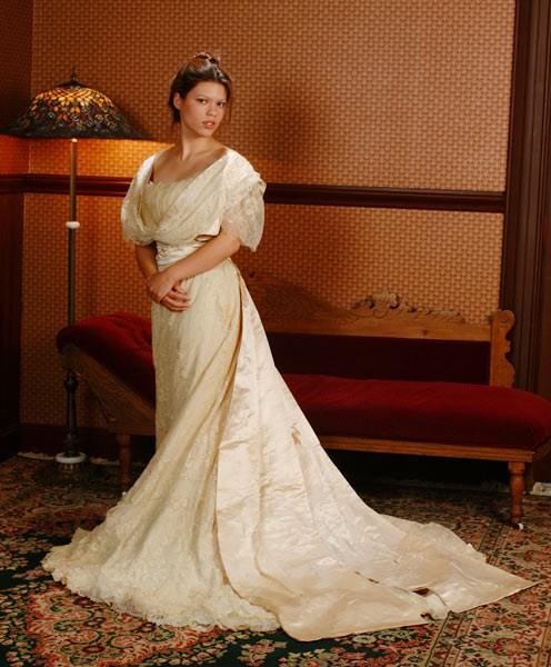 1908 Wedding Dress