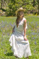 1895 White Cotton Petticoat
