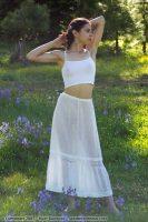 1910 White Lawn Petticoat