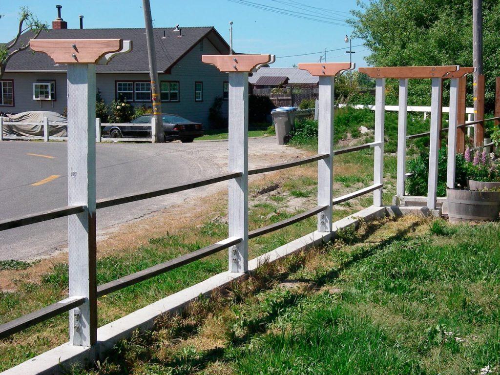 May 2008 - Rails and cross bars