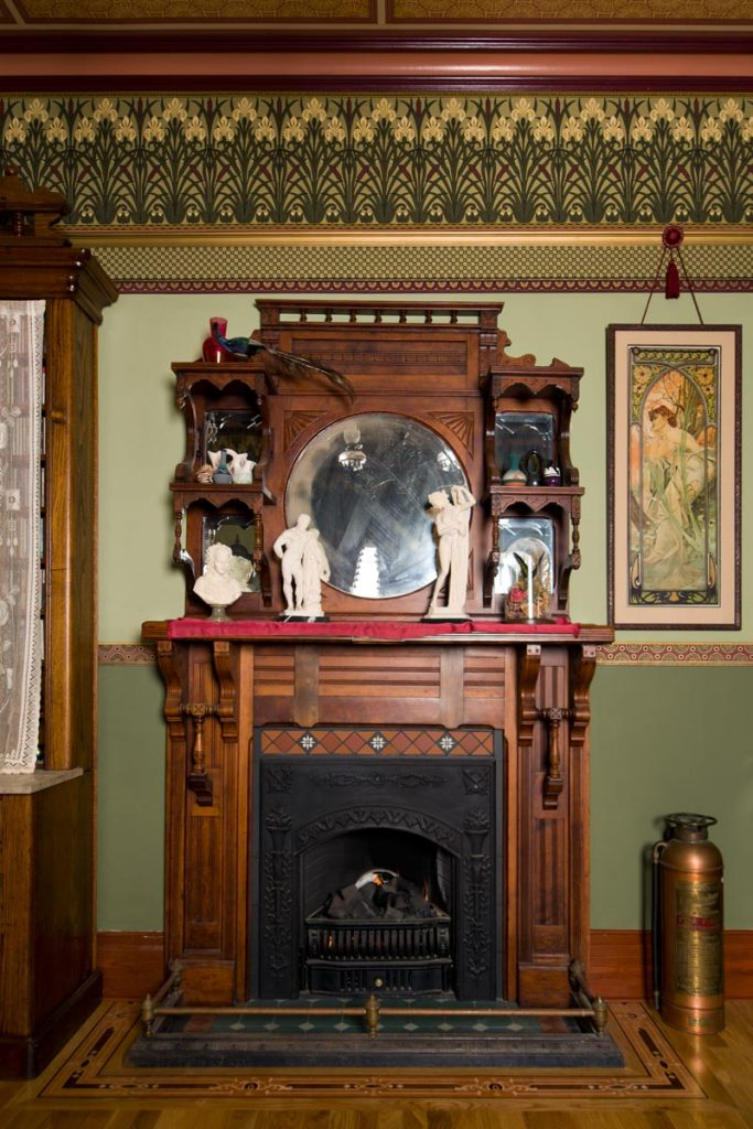 Victorian Mantel