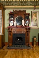 Victorian Hearth and Mantel