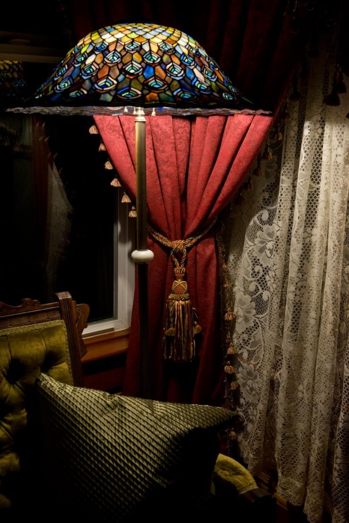 Curtains with Victorian Tassel Tie Backs