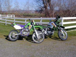 My KLX & KLR
