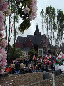 Memorial Day Service in Ferndale