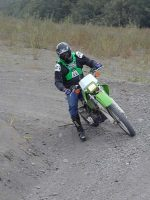 John on the KLX
