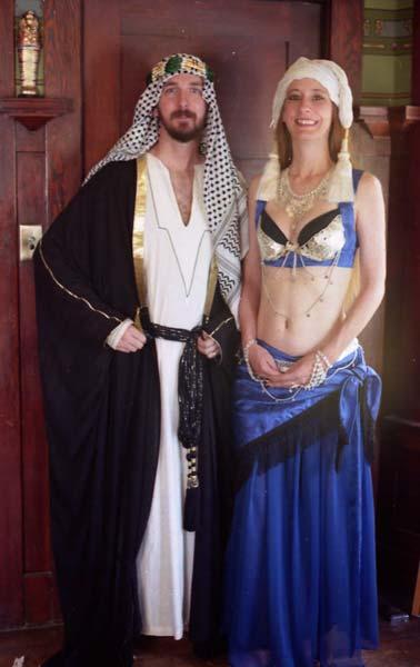 Arabian Nights costumes