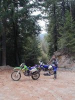 KLX300, Riding with Dale
