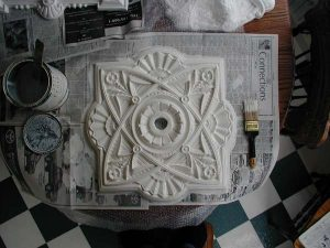 Parlor Ceiling Medallion