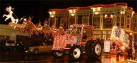Lighted Tractor Parade