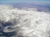 Sierras from the air
