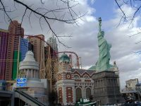 New York, in Las Vegas