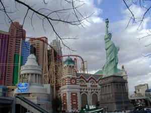 New York, in Las Vegas