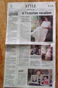 Times Standard article about Lori