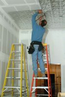 Installing Tin Ceiling