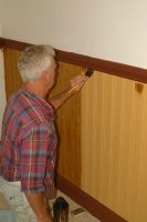 Larry Martin woodgraining