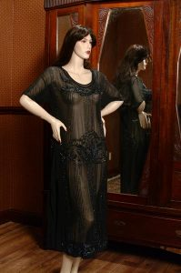 1930s Beaded Flapper Gown