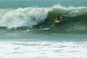 John bodysurfing