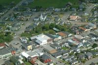 Ferndale from the air