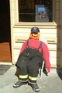 Fireman Scarecrow