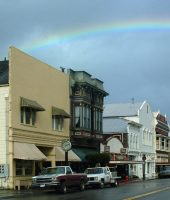 Main Street Rainbow