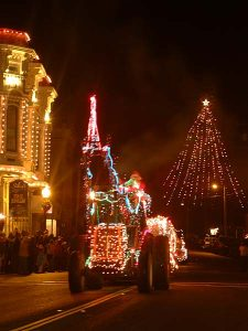 Ferndale Lighted Tractor Parade