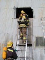 Laddering a window