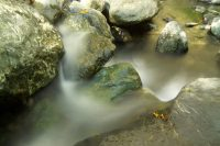 Blurred water