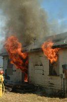 Rio Dell practice burn