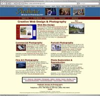 Aesthetic Design & Photography Website