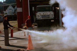Fire Extinguisher Drill