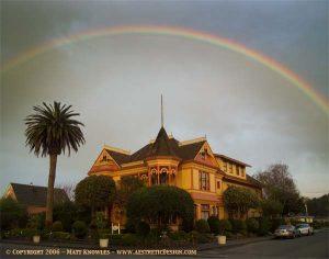 Gingerbread Mansion Rainbow