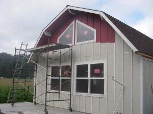 Painting Garage