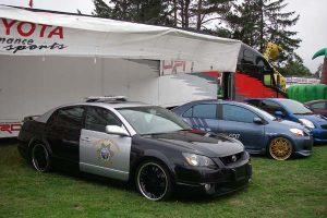 Toyota Police Vehicle