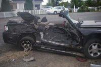 High speed crash