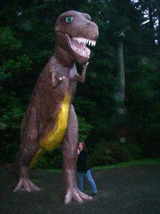 T-Rex and Lori