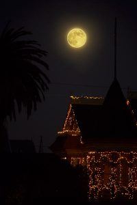 Moon over the Gingerbread