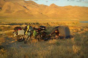 Camping at Pyramid Lake