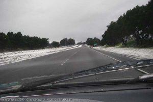 Snow in Arcata