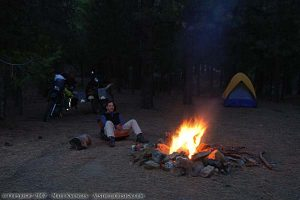 Camping with Blake