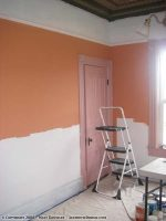 Painting the office