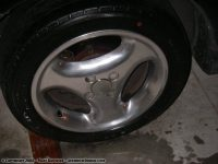 Polished wheel