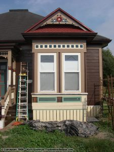 Painting the Bay Window