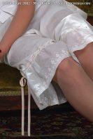 1890 White Cotton Drawers