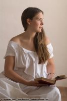 1900 White Cotton Nightgown Set