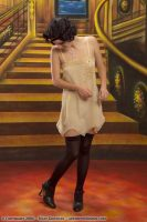 1920 Beige Silk Teddy