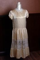 1925 Ivory Silk Wedding Dress